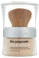 L'Oreal True Match Minerals Powder Golden Ivory D1/ W1 10ml (PACK OF 4)
