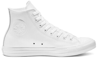Converse Chuck Taylor All Star Mono Leather High Top Trainers