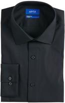 Men\'s Extra Slim-Fit Stretch Cut-Away Collar Dress Shirt
