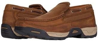 Dan Post Armstrong Soft Toe (Tan) Men's Slip on Shoes