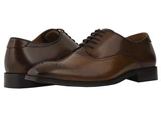 Florsheim Belfast Perf Toe Oxford (Cognac/Brown Smooth) Men's Lace Up Wing Tip Shoes