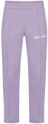 Palm Angels Logo Side Stripe Track Pants
