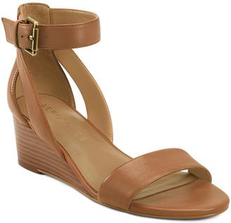 Aerosoles Women's Sandals TAN - Tan Willowbrook Leather Sandal - Women