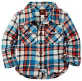 Tea Collection Visu Flannel Shirt (Baby & Toddler Boys)