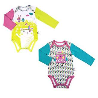 Camilla And Marc Bodies Pack of 2 Baby Girl's Long-Sleeved Hihi - 36 Months (98 cm)