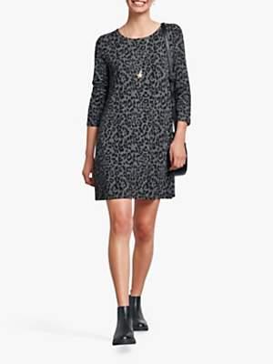 Hush Raven Jersey Print Dress