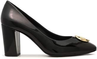 MICHAEL Michael Kors Dena Embellished Patent-leather Pumps