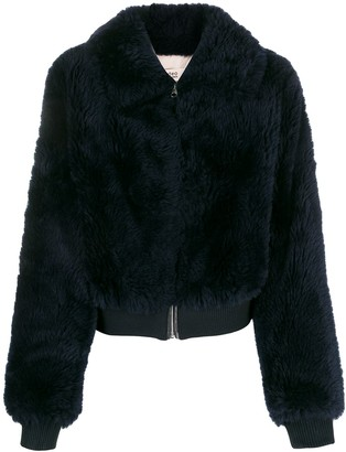 Yves Salomon Faux Fur Jacket