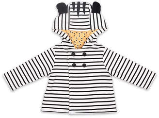 The Peanut Shell The Baby Unisex Zebra Jacket