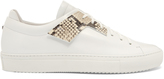 Oamc Patch low-top leather trainers