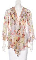 Elizabeth and James Silk Printed Cardigan
