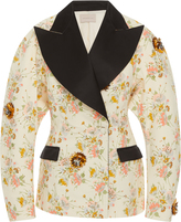 Christopher Kane Archive Floral Double Breasted Jacket