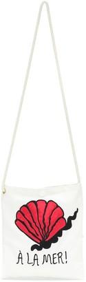 Mini Rodini A La Mer cotton shoulder bag