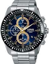 Lorus Men's 46mm Steel Bracelet & Case Quartz Dial Analog Watch Rm343dx9