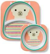 Skip Hop Zoo Melamine (Plate and Bowl) Set, Llama