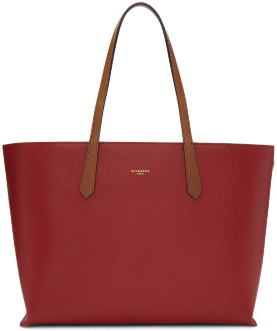 Givenchy Red GV Shopper Tote