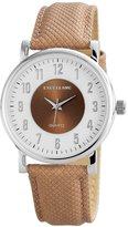 Excellanc 195022100179 - Women's Wristwatch, diversi materiali, color:Brown
