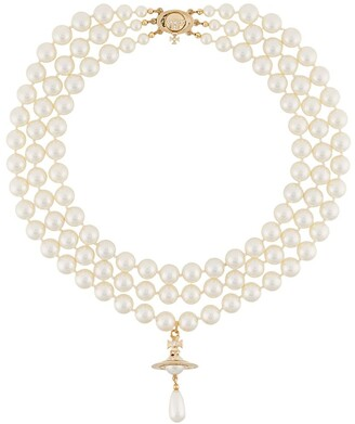 Vivienne Westwood Layered Pearl Necklace