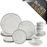 Noritake Platinum Wave 20-Piece Dinnerware Set