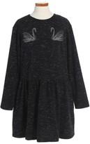 Girl's Stella Mccartney Kids Marion Embroidered Dress