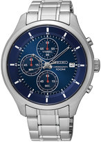 Seiko Men's Chronograph Special Value Stainless Steel Bracelet Watch 43mm SKS549