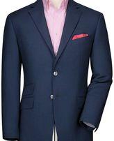 Charles Tyrwhitt Classic fit royal birdseye wool jacket
