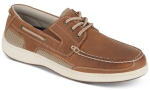 Dockers Beacon Leather Casual Boat Shoe with NeverWet Men's Shoes