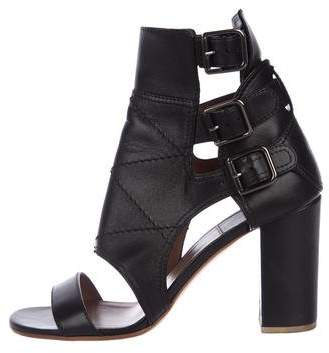 Laurence Dacade Leather Ankle-Strap Sandals