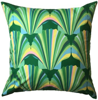 Chloe Croft London Limited Green Weatherproof Shell Deco Cushion