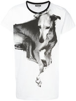 Ann Demeulemeester dog print T-shirt - men - Cotton - S