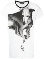 Ann Demeulemeester dog print T-shirt