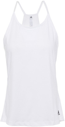 adidas Printed Stretch-mesh Tank