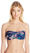 Jessica Simpson Women's Sweet Treat Bandeau Bikini Top