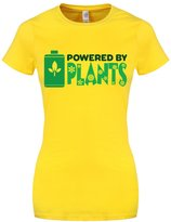 Grindstore Women's Powered By Plants T-shirt