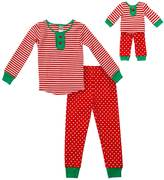 Dollie & Me Girls 4-14 Holiday Pajama Set
