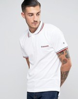 Lambretta Tipping Pique Polo With Target Logo