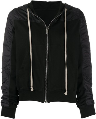 Rick Owens Hooded Fitted Jacket