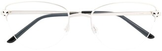 Cartier Panthere square frame optical glasses