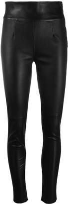 IRO Feldz leather skinny trousers