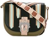 Paula Cademartori keyhole lock shoulder bag