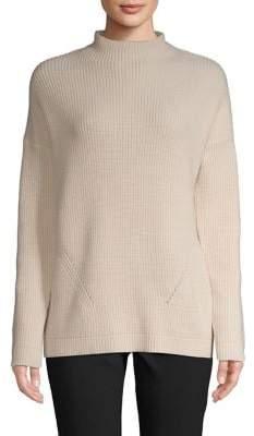 Isaac Mizrahi Imnyc Long Sleeves Mock Neck Sweater