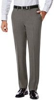 Haggar Men's J.M. Premium Slim-Fit Stretch Flat-Front Suit Pants