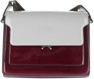 Marni Trunk Red Patent leather Handbags