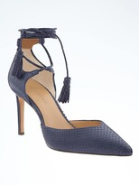 Banana Republic Madison 12-Hour Ankle-Wrap Pump