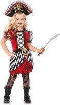 Leg Avenue Big Girls' Treasure Pirate Costume Halloween Dress and Crossbone Hat