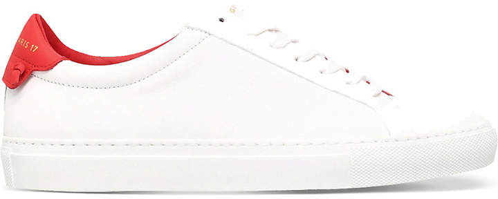 Givenchy Knot-detail leather trainers
