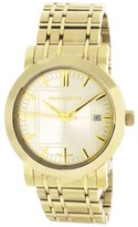 Burberry 12993 Gold Tone Stainless Steel Quarts 40mm Mens Watch