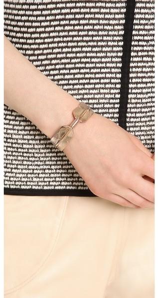Pamela Love Feather Cuff Bracelet