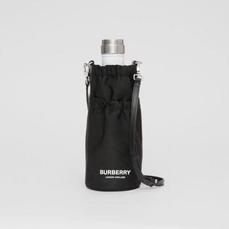 Burberry Logo Print ECONYL Water Bottle Holder