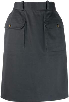 Chanel Pre-Owned 1990s cargo straight skirt